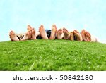image of several legs lying on... | Shutterstock . vector #50842180