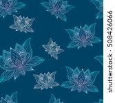 floral vintage seamless pattern ... | Shutterstock .eps vector #508426066