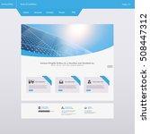 modern eco simple website...