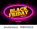 black friday sale frame design... | Shutterstock .eps vector #508452016