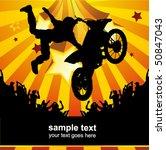 rider vector background  ...   Shutterstock .eps vector #50847043