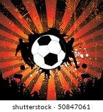 football poster   Shutterstock .eps vector #50847061