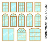 vector icons set of different... | Shutterstock .eps vector #508473082