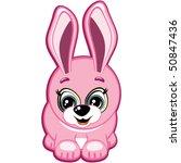 little bunny. vector. | Shutterstock .eps vector #50847436