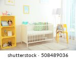 interior of modern baby room | Shutterstock . vector #508489036