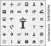 control tower icon. airport