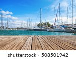 Small Wooden Jetty In The...