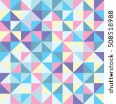 abstract pattern triangle... | Shutterstock .eps vector #508518988