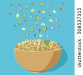 vector flat illustration of... | Shutterstock .eps vector #508537315