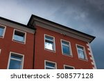 the building against sky in... | Shutterstock . vector #508577128