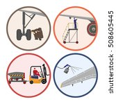set of images . mechanic... | Shutterstock . vector #508605445