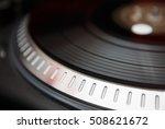 turntable dj vinyl record... | Shutterstock . vector #508621672