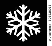 snowflake icon illustration... | Shutterstock .eps vector #508628095