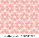 abstract flowers on a gentle... | Shutterstock .eps vector #508635982