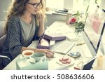 shopping commercial online... | Shutterstock . vector #508636606
