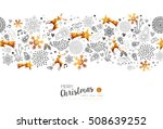 merry christmas and happy new... | Shutterstock .eps vector #508639252