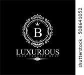 luxury logo template in vector... | Shutterstock .eps vector #508641052