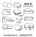 hand drawn vector illustration. ... | Shutterstock .eps vector #508665595