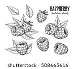 hand drawn vector illustration. ... | Shutterstock .eps vector #508665616