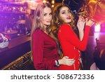 fashionable girls  best friends ... | Shutterstock . vector #508672336