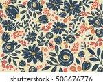 vector of modern stylized... | Shutterstock .eps vector #508676776