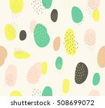 cute abstract colorful circle... | Shutterstock .eps vector #508699072