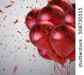 vector festive illustration of... | Shutterstock .eps vector #508730515