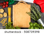 italian food ingredients | Shutterstock . vector #508739398