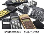 old cell phone | Shutterstock . vector #508743955