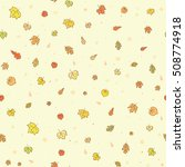 vector seamless pattern with... | Shutterstock .eps vector #508774918