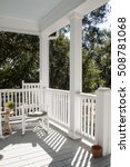 Classic Sunny Southern Porch...