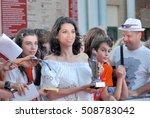 giffoni valle piana  sa  italy  ... | Shutterstock . vector #508783042