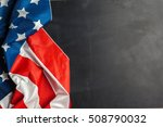 american flag   Shutterstock . vector #508790032