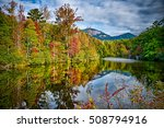 landscapes near lake jocassee...   Shutterstock . vector #508794916