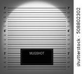 police mugshot  | Shutterstock .eps vector #508802302