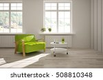 white room with armchair.... | Shutterstock . vector #508810348