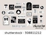 collection of stylish black... | Shutterstock .eps vector #508811212