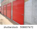 self storage units | Shutterstock . vector #508837672