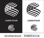 logo icon design and business... | Shutterstock .eps vector #508853116