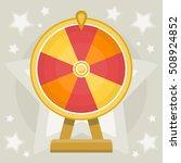 wheel of fortune | Shutterstock .eps vector #508924852