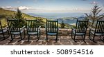 chairs and beautiful mountain...   Shutterstock . vector #508954516