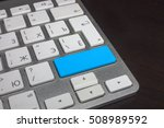 keyboard with pure color button.... | Shutterstock . vector #508989592