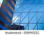 windows of business building in ... | Shutterstock . vector #508990222