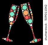 cheers shape vector design by... | Shutterstock .eps vector #509011042