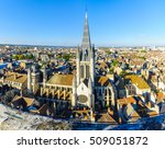 an aerial view of the historic... | Shutterstock . vector #509051872