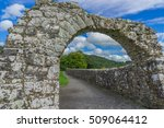 beautiful stone archway... | Shutterstock . vector #509064412