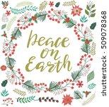 christmas greeting card....   Shutterstock .eps vector #509078368