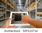augmented reality in warehouse... | Shutterstock . vector #509123716