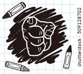 gesture doodle | Shutterstock .eps vector #509128702