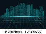 abstract technology background  ... | Shutterstock .eps vector #509133808